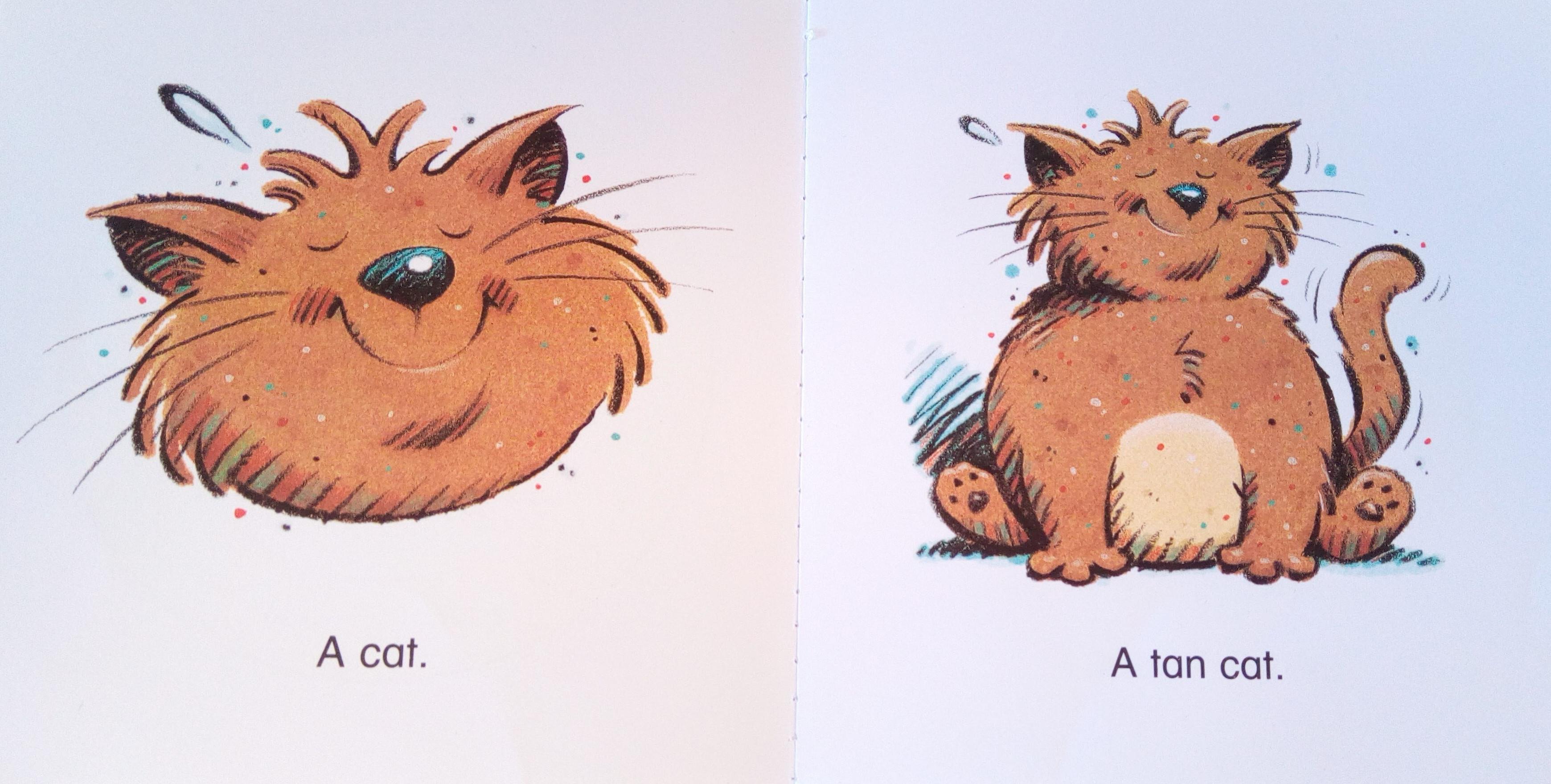 Prvá dvojstrana z príbehov Animal Antics od Dory Gaydos